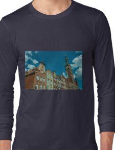 Clock Tower Gdansk  Long Sleeve T-Shirt