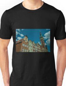 Clock Tower Gdansk  Unisex T-Shirt