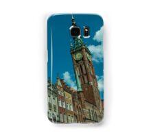 Clock Tower Gdansk  Samsung Galaxy Case/Skin