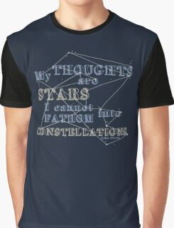 TFIOS - My Thoughts Are Stars Graphic T-Shirt