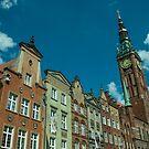 Clock Tower Gdansk  by Rob Hawkins