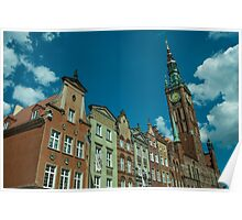 Clock Tower Gdansk  Poster