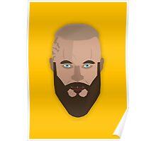 Ragnar Lothbrok Vector Design Poster