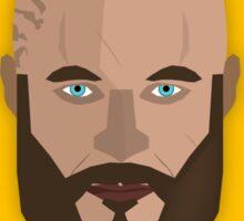 Ragnar Lothbrok Vector Design Sticker