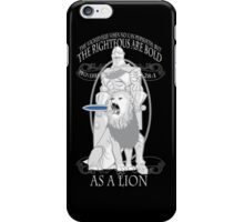 As A Lion iPhone Case/Skin
