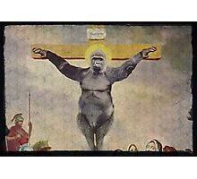 Harambe our Holy father Photographic Print