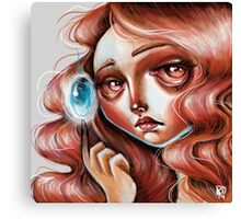 Soul Gem :: Red Headed Scamp Canvas Print