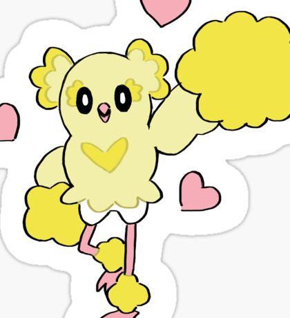 Oricorio Pom Pom Pokemon Sticker