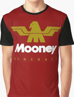 Mooney Vintage Aircraft USA Graphic T-Shirt