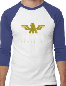 Mooney Vintage Aircraft USA Men's Baseball ¾ T-Shirt