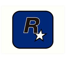 Rockstar North Logo Art Print