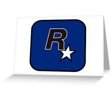 Rockstar North Logo Greeting Card