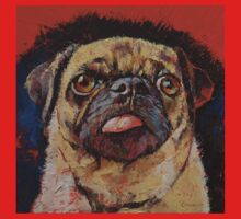 Pug Portrait Kids Tee