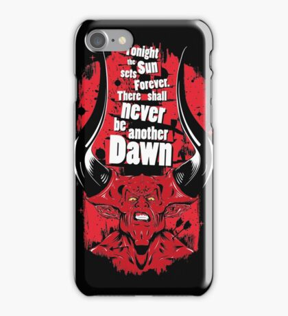 There shall never be another Dawn iPhone Case/Skin