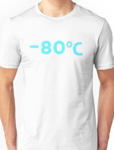 80 degrees below zero Unisex T-Shirt