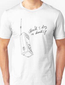 Stranger Things Will Talkie Walkie Unisex T-Shirt