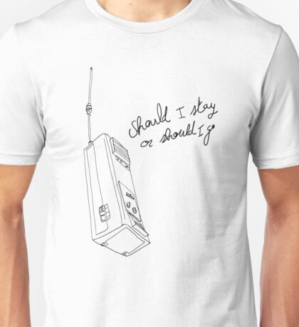 Stranger Things Will Talkie Walkie Unisex T-Shirt
