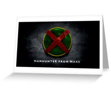 Martian Manhunter Greeting Card