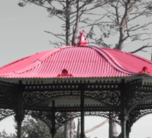 The Bandstand  Sticker