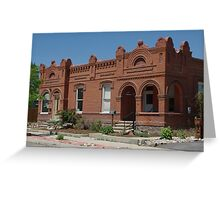 Restored 1880's Homes I Greeting Card