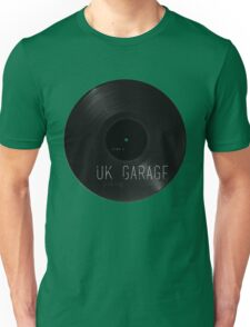 UK Garage Vinyl Unisex T-Shirt