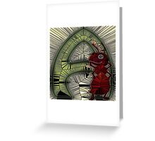 Alphabet Mosaic Letters - A Greeting Card