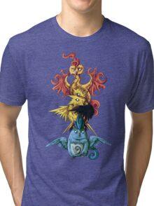 articuno zapdos moltress legendary pokemon tower Tri-blend T-Shirt
