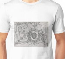 Vintage Map of Vienna Austria (1780) Unisex T-Shirt