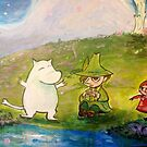 A Happy Moomin Day Out by debzandbex