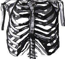 Chest X-Ray by JadedEyes
