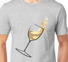 White White Wine Unisex T-Shirt