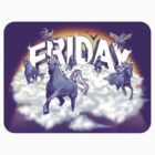 Friday! - The Sticker  by littleclyde