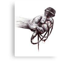 Hardcore Fist Canvas Print