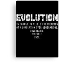 What is Evolution?... Canvas Print