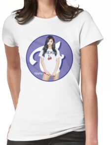 TWICE Tzuyu Womens Fitted T-Shirt