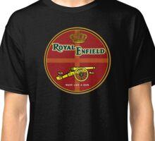 Royal Enfield Vintage Motorcycles    made like a gun. Classic T-Shirt