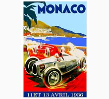 """MONACO GRAND PRIX"" Vintage Advertising Print Unisex T-Shirt"