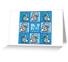 The Rat Pack - 8 Greeting Card
