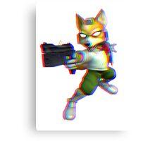 Fox - 3D Canvas Print