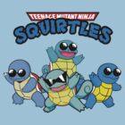 Teenage Mutant Ninja Squirtles by FlyNebula