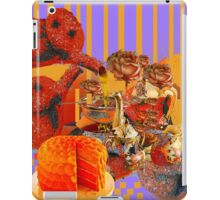Still Life with Orange Tea and Cake  iPad Case/Skin