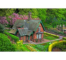 Gardener's cottage Photographic Print