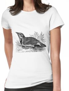 Down in the Meadow  Womens Fitted T-Shirt