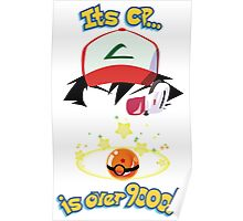 Its CP is over 9000! Poster