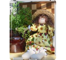 Rooster Doll iPad Case/Skin