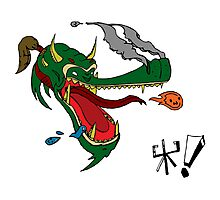 Dragon Drool Photographic Print