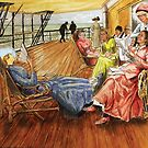 On the deck by Gerard Mignot