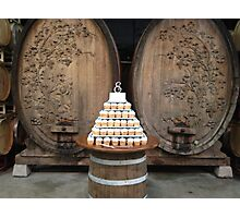 Vineyard Wedding Cake  Photographic Print