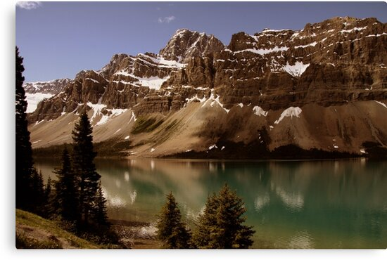 Bow Lake by Vickie Emms