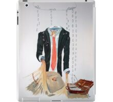 The weariness iPad Case/Skin